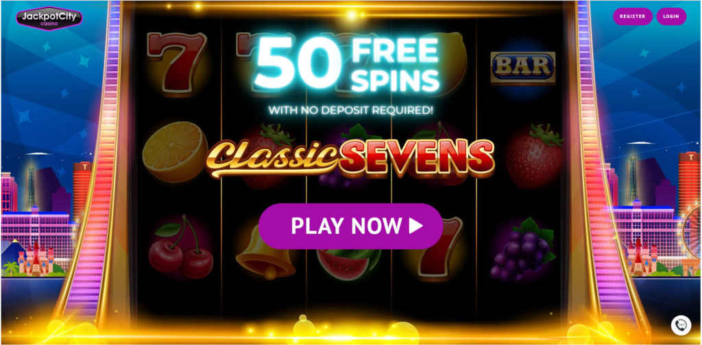 Get 50 Free Spins on Classic Sevens